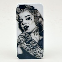 "Sexy Marilyn Monroe and ""Let It Go"" , ANNA , Elsa , kristoff , hard back cover case for iphone 5 5S  , free shipping"