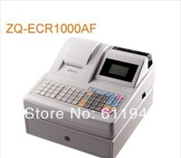 Free by DHL Low cost! 1 pcs ZQ-ECR1000AF electronic cash register / all-in-one fastfood cash register