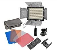 Wholesale 6pcs Yongnuo YN-300II Studio Video Light LED Photo light Adjust Illumination Dimming LED Video Light for DSLR + Remote