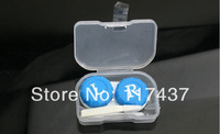 lowest price contact lens cases container , with tweezers