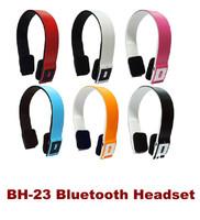 BH23 wireless bluetooth earphones headset stereo 3.0 earphones universal mobile phone headphones earphones BH-23 free shipping