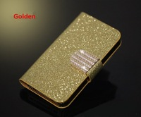 Bling Case  For Samsung Samsung GALAXY Note 3 Lite NEO N750 N7505 Leather  Phone  Cover Holder  Diamond Hasp With ID card Holder