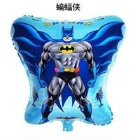 Free shipping 50pcs/lots wholesale high-quality film balloons, helium balloons , children's toys , Batman , Superman