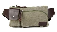 Fashion Unisex Casual Oxford Small Waist Packs men Chest Pack Male Sports Canvas bag With Mobile Phone Zipper Bags messenger bag