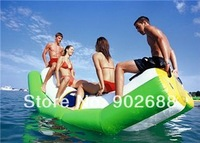 Free shipping and Crazy price!!! water games inflatable seasaw, high quality inflatable seasaw for sale