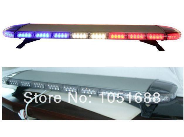 Free shipping low profile GEN III 1 Watt super bright LED strobe Lightbar,truck lightbar(amber/blue/red/white)ESL2112(China (Mainland))
