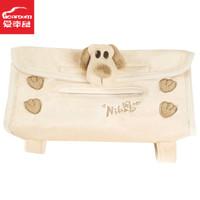 Mud cartoon dog auto supplies sun-shading board sets of tissues nb-215kt