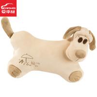 cartoon dog car pillow cushion car accessories headrest neck rest