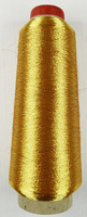 3000 Yard / gold  Colors Spools Polyester Sewing Thread For Hand & Machin  Metallic Embroidery Threads