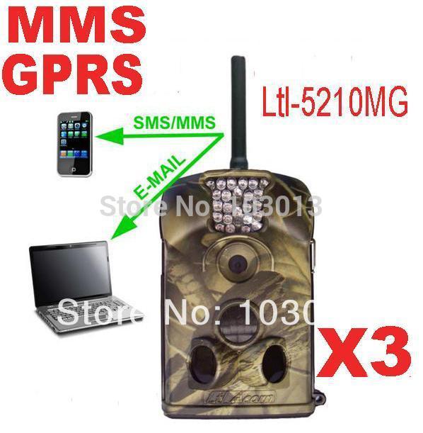 Ltl Acorn 5210MG 940nm 12MP MMS GSM animal hunting camera GPRS EMAIL Surveillance scouting camera antenna 3pcs/lot(China (Mainland))