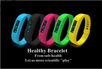Free shipping Unique Wearable Devices Recording Sports and Sleep Quality Bluetooth 2.1 Intelligent Bracelet 040