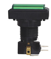 PBS-34-2 24m 16A 250VAC micro push button switch with micro switch and LED or NEON lamp