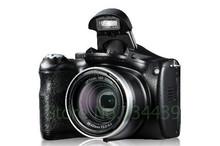 NEW 18Mega Pixel 14Mp CMOS Sensor DSLR Type Digital Camera with 21x Inteligent Zoom and 3 inch Big Screen Free Shipping
