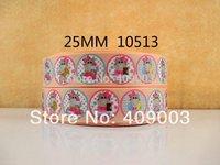 "50Y10513 kerry ribbon free shipping 1"" printed Grosgrain ribbon DIY headwear ribbon and bow accessories"