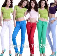 20 colors plus size New fashion women jeans summer denim slim skinny pencil jeans women,ladies sexy pencil pants free shipping