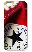 2014 New coming!! 1pc converse logo hard back white case cover for iphone  4 4G 4S  +free shipping