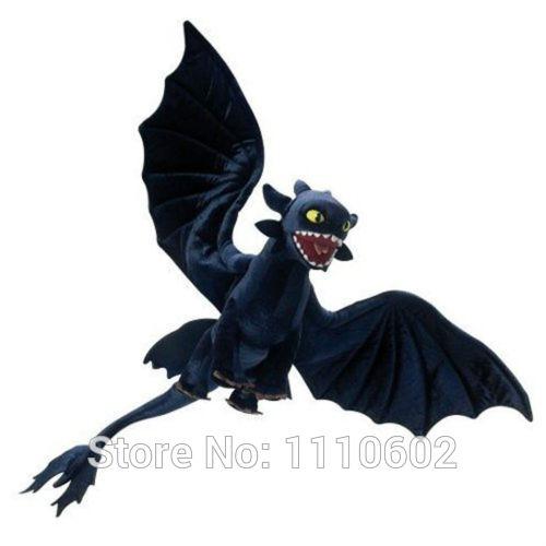 """Furia nocturna felpa 22 """" sin dientes How to entrenar a tu dragón"""