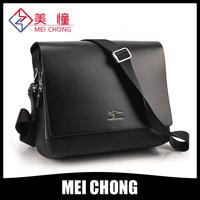 2014 large promotion business leisure man briefcase bag leather shoulder bag man bag free shipping