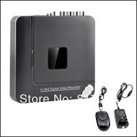 DHL free shiping NEW 4 CH Channel H.264 Home Network Mini CCTV DVR P2P Security Video Recorder/S1 KA-DVR204M