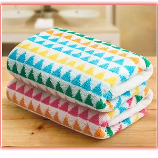 2 Pieces/lot 34x76cm 100% home textile face towels cotton face towel spring 2014(China (Mainland))