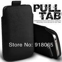 New PU Leather Case For iPhone 4 Fashion Pocket Bag For iPhone 4G 4S  With Pull Out function