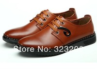 2014 Special offer New product Package mail  262 men breathable leisure Leather shoes Real leather business  shoes