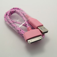 NEW Mobile Tablet PC Charging data cable FOR IPAD1/2/3 IPHONE4/4S free shipping