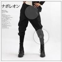 2014 new mans spring Harem pants male plus size capris skinny pants male capris culottes boot cut jeans