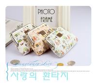 free shipping women wallets children wallet cheap coin purses  classic   double           mimco pouch coin bag cartoon