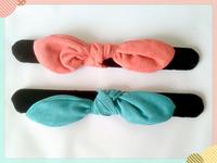 Popular Bow Papa Roll Hair Circle /Hair Ponytail Holder/ hair band/ Hair accessories customize