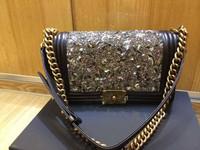 Lambskin LEBOY 25.5 Diamond 2014collection women leather handbags/women handbag/women messenger bags