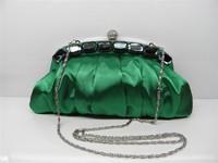 South korean silk women's evening bag handmade bag small cross-body bag chain 2014 women's handbag  Drop shipping Free shipping