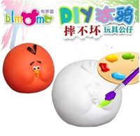 2014 free shipping new toy, carton coin bank,children toy, painting DIY toy set, early education, color learning