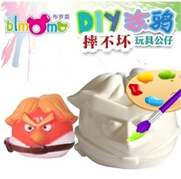 2014 free shipping new toy, carton coin bank,children's toy, painting DIY toy set, early education, color learning