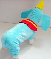 New 2014 Pet Products The elephant costume Dog Clothes Warm Jacket For Dogs clothing Cosplay elephant Cheap Price Free Shipping
