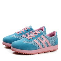2014 breathable gauze women's shoes casual shoes platform single shoes elevator weight loss platform shoes