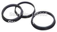 63.4-57.1mm 20 pcs/lot Black Plastic Wheel Hub Centric Rings Custom Sizes Available Wholesale China Post Free Shipping