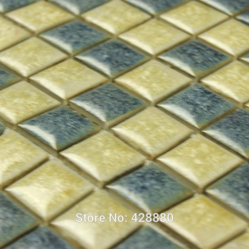 porcelain tile glazed mosaic wall stickers kitchen