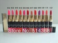 CC Brand cosmetics makeup, makeup  2 in 1 lipstick + lip gloss (6pcs/lot) free shipping