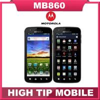 Original Unlocked Motorola ATRIX 4G MB860 Mobile Phone Android GPS Wifi Dual-core 16GB 5MP Refurbished 8.0MP Refurbished