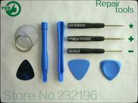 100set/lot 9in1 mini tool set iphone series repair tools, precision manufacturing factory direct