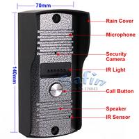 color camera outdoor unit for video doorphone intercom camera
