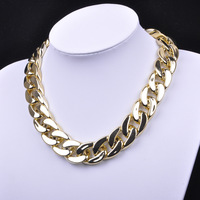 Sunshine jewelry store fashion CCB punk chain chunky necklaces & pendants X557( $10 free shipping )