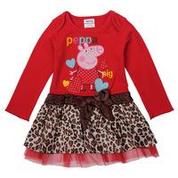 nova2014 spring and summer girls dress original single fashion explosion models princess dress H4715