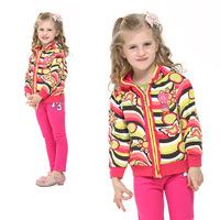 nova2014 thermal spring models of foreign trade children's clothing Korean girls tops girls warm padded jacket padded Ms.