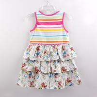 Nova Nova spring models little girls dress children's clothing wholesale trade of the original single girls dress H3961