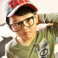 5Pcs/Lot Child glasses frame fashion female child eyeglasses frame lens ultra-light meters myopia glasses Free Shipping