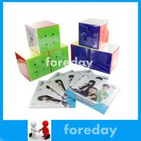 6X Cyclone Boys 3x3 3X3X3 Speed puzzle Magic cube 5.6CM 56MM Stickerless original 3x3 FeiWu original wholesale 6PCS