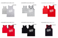 17  styles rocksmith  Loose tank  Vests fashion high qulaity Tank Tops Men's  undershirt  hiphop