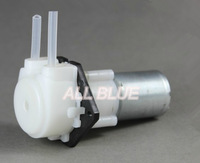 slow flow micro peristaltic pump metering pump silicone tube pump dosing pump with planetary gear